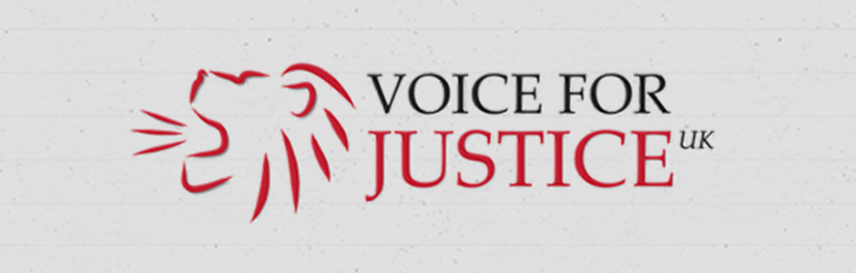 voice for justice banner