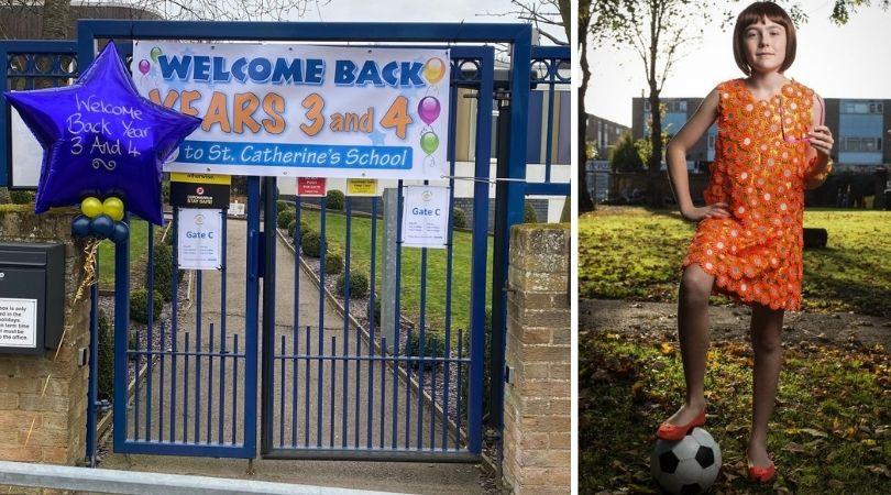 'Cross-Dressing' Catholic School Bans Mum